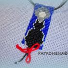 """Pedant """"Cat"""" Pendant from Japanese beads """"Cat"""" made by hand, Cat Colors, I Am Happy, Bows, This Or That Questions, Japanese, Christmas Ornaments, Pendant, Holiday Decor, Handmade"""