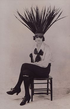 Richard Colley (in drag) 1920's