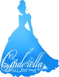 Princesses Disney images Cendrillon Silhouette