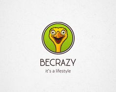 crazy ostrich by Irina Veter, graphic designer