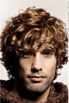 Golden Boy Type Curls