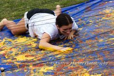 messy obstacle course game-use slime/shaving cream/paint and tarps . messy obstacle course game-use slime/shaving cream/paint and tarps Youth Games, Games For Teens, Adult Games, First Birthday Games, Birthday Games For Adults, Birthday Ideas, Camping Games, Camping Activities, Camping Ideas