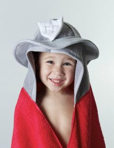 Firefighter Hooded Towel | Shared by LION