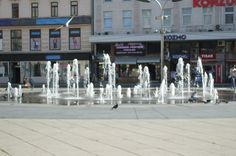 fountain in Osijek