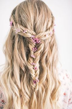 The Prettiest Festival Hairstyle   The Blondielocks   Life + Style