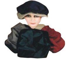 Adult Mens Renaissance Costume Hat