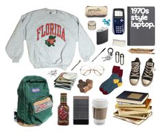 A fashion look from March 2016 featuring florida gators shirt, block socks and black shoes. Browse and shop related looks. Retro Outfits, Grunge Outfits, Cute Casual Outfits, Vintage Outfits, Fashion Outfits, 90s Fashion, Aesthetic Fashion, Aesthetic Clothes, Skateboard Style