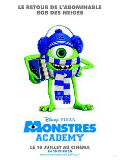 Découvrez la nouvelle affiche de Monstres Academy ! Au cinéma le 10 Juillet ! #MONSTRESACADEMY