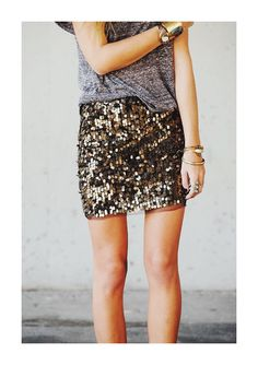 STYLE INSPIRATION | AT THE OFFICE : SOMETIMES SEQUINS