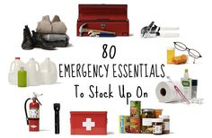Emergency Items to stock up on (Some good ideas here)