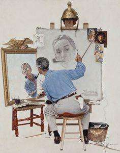 Museógrafo | Norman Rockwell: Retratos norteamericanos