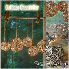 DIY Outdoor Chandelier or Porch Light | DIY for Life