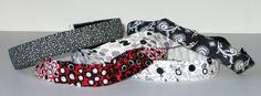 No Slip Headband, Black & White, Grey, Fabric Headband, Style, Sweatband, Yoga Headband, Girl Gift, Marathon, Jogger, Run, Fashion
