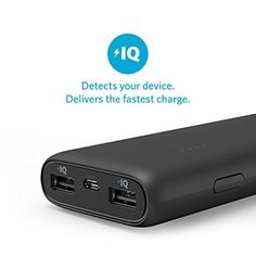 Anker PowerCore 15600 Compact Portable Charger External Battery Pack Power Bank with 4.8A Output, Dual USB, PowerIQ Technology for Phones, Tablets and more (Black)  http://www.discountbazaaronline.com/2015/11/10/anker-powercore-15600-compact-portable-charger-external-battery-pack-power-bank-with-4-8a-output-dual-usb-poweriq-technology-for-phones-tablets-and-more-black/