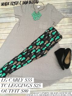 Carly Dress + LuLaRoe Leggings LuLaRoe Outfit Inspiration Flat Lay Photography Fashion 2017