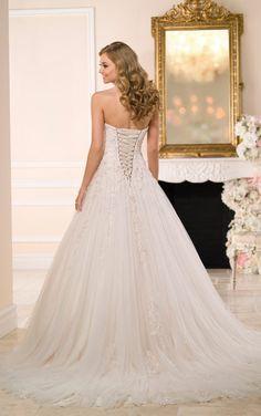 6026 Elegant A-Line Bridal Gown Wedding Dresses by Stella York