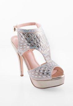 Sparkling Platform High Heel #camillelavie