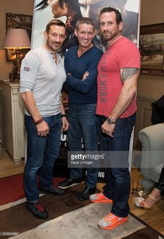 Ollie, Billy Billingham and Foxy of Who Dares Wins attends a Jack Reacher 'Tough Guy' Gala Screening at Charlotte Street Hotel on October 2016 in London, England. British Royal Marines, British Royals, Sas Special Forces, Ant Middleton, Jack Reacher, Fantastic Mr Fox, We Will Rock You, Tough Guy, Many Men