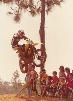 I love vintage motocross photos