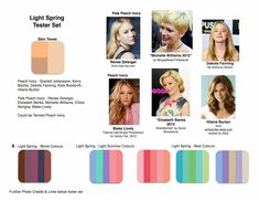 Words on Home: Seasonal Colour Palettes - Am I a Light Spring?