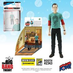 The Big Bang Theory Sheldon Riddler 3 3/4-Inch Fig -Con Excl, Entertainment Earth Booh #2343, $14.99