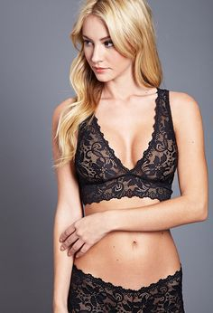 Scalloped Lace Bralette | Forever 21 Canada