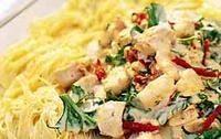 Italiensk kycklingpasta - Recept - Tasteline.com