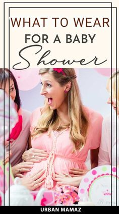 Baby showers are less formal than other events, so choose outfits with pops of color, feminine silhouettes, or fun prints. Whether it's a sophisticated affair or low-key brunch, knowing what to wear to a baby shower is essential. Here are 11 outfits for a spring/summer pregnancy that are perfect for a baby shower> #maternitycloths #pregnancyfashion #babyshower #outfitsforpregnancy Get Pregnant Fast, Pregnant Diet, Getting Pregnant, Pregnancy Stages, Pregnancy Tips, Pregnancy Photos, Fun Pregnancy Announcement, Advice For New Moms, Pregnancy Information