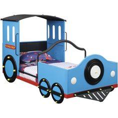 Coaster Company Twin Train Bed, Blue