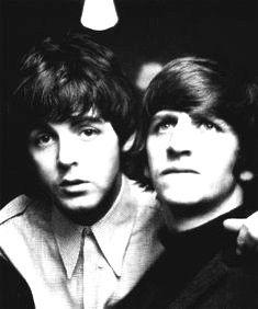 Paul McCartney and Ringo Starr.