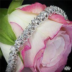 3.00ctw X-Prong Diamond Tennis Bracelet | 5106 #Whiteflash