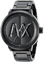 Armani Exchange Men's AX1365 ATLC Analog Display Analog Quartz Black Watch