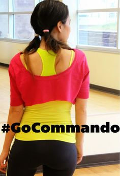 Be confident while going COMMANDO with my little secret. #spon