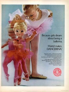 !969 Mattel Dancerina