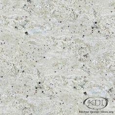 Bianco Romano Granite  (Kitchen-Design-Ideas.org)
