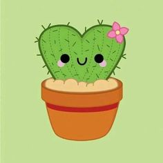Cactus © pincinc 2014 - I love drawing these! Heart Cactus © pincinc 2014 - I love drawing these! - -Heart Cactus © pincinc 2014 - I love drawing these!Drawing Kawaii Cactus New IdeasStamp for placecardsimage by Discover all images by Find more aw Kawaii Doodles, Cute Kawaii Drawings, Love Drawings, Kawaii Art, Easy Drawings, Cute Heart Drawings, Cactus Drawing, Cactus Art, Cactus Plants