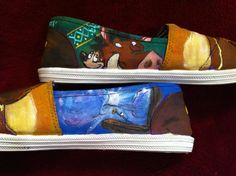 Lion King Toms, side view