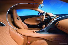 2016 Bugatti Chiron - interior
