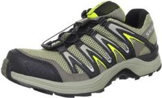 Salomon Men's XA Comp 7 Trail Running Shoe Salomon. $103.24. Sensifit. Non-marking Contagrip outsole. Rubber sole. Leather and mesh. Quicklace one-pull lacing system