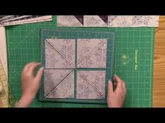 How to Make the Winter Shadows Quilt - YouTube