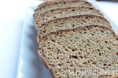 Chleb orkiszowy razowy, zrobiony z samej mąki razowej orkiszowej. Dodatek czarnuszki i sezamu nadaje mu oryginalnego smaku. Można też dodać inne ziarna np. słonecznika, dyni albo siemienia lnianego. Mimo tak dużej ilości zakwasu w przepisie – chlebwcale nie jest za kwaśny. Bardzo łatwy do wykonania, składniki wystarczy wymieszać łyżką. Składniki Przygotowanie Do miski przesiać mąkę […] Banana Bread, Food, Essen, Meals, Yemek, Eten