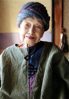 toyota shibata, japanese poet.  I think she's beautiful~