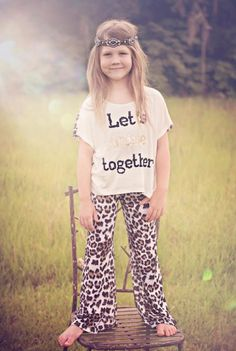 Tween Let's Shine Together Top & Pant Set 7 to 14 Years at Cassie's Closet