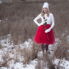 Look Zimní look od POSHme Girls Dresses, Flower Girl Dresses, Casual Looks, Tulle, Outfits, Wedding Dresses, Skirts, Closet Ideas, Holidays