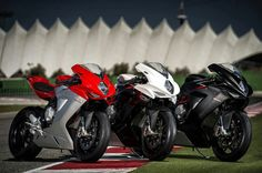 MV Agusta line up Street Bikes, Road Bikes, Custom Sport Bikes, Cafe Racer Style, Motorcycle Manufacturers, Mv Agusta, Sportbikes, Cool Motorcycles, Bike Design
