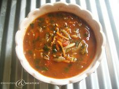Gluten free Vegan Julienned Carrot Vegetable Soup