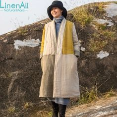 http://fashiongarments.biz/products/100-linen-clothing-womens-yellow-and-gray-v-neck-pure-linen-long-trench-coat-outerwear-wuyou/,    100% linen clothing women's yellow and gray V-neck pure linen long  trench coat  outerwear   Fabric components: 100% Linen Size info (cm):  S Length: 103, shoulder:38, Bust:106,  sleeve length:59.5 sleeve width: 38  M Length: 109, shoulder:39, Bust:110,  sleeve length:60.5 sleeve width: 39  L Length: 114, shoulder:40, Bust:114,  sleeve length:61.5…