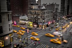 New York City views   It seems to me that this shot shows most typical NY corner, with all ...