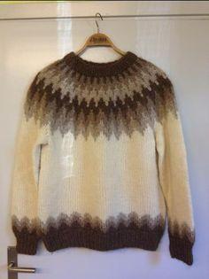 Icelandic wool sweater #icelandic #knitting and #crochet #patterns #wool