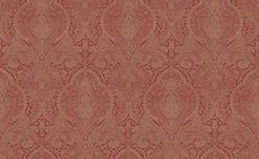 Addison (ADDISWAL/004) - Blendworth Wallpapers - A grand all over, damask design with delicate intricate detailing. Shown here in gold and deep red. Other colourways are available. Please request a sample for a true colour match. Pattern repeat is 64cm. Paste-the-wall product.